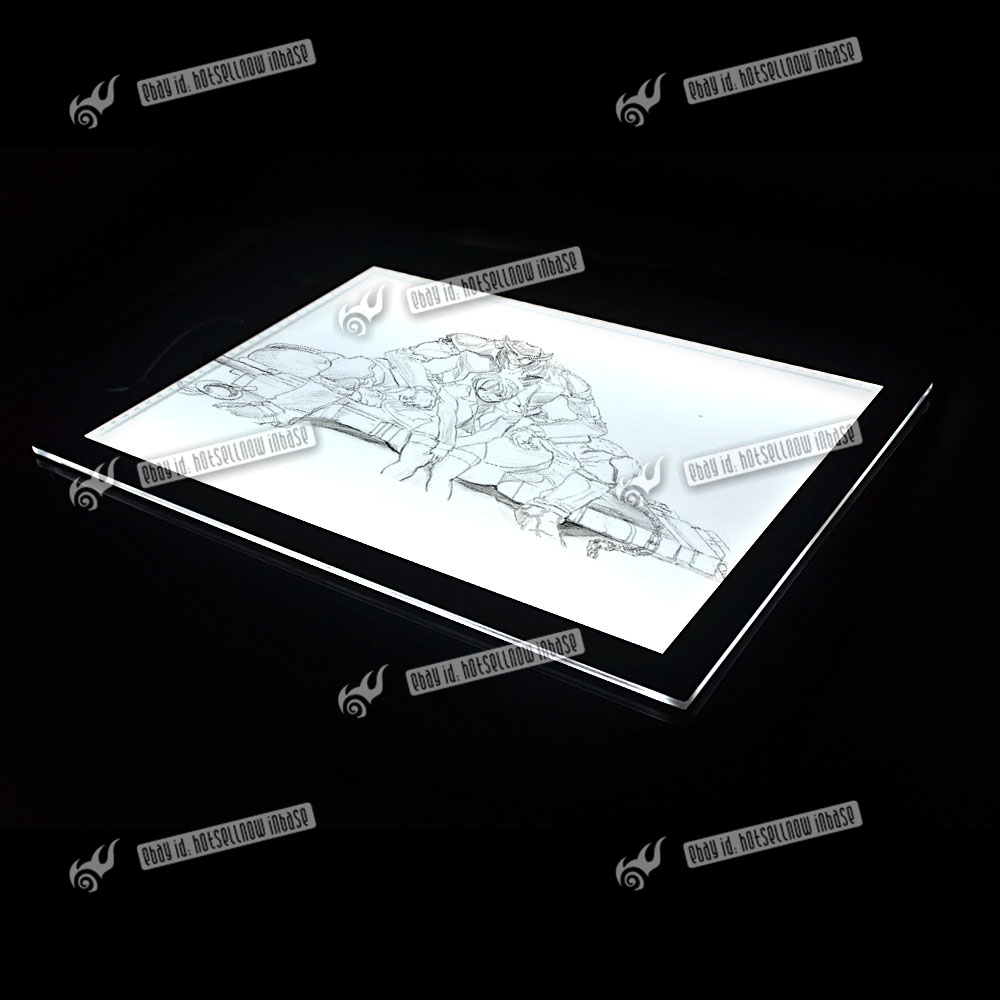a3 a4 painting board led tracing drawing pad dimmer light. Black Bedroom Furniture Sets. Home Design Ideas