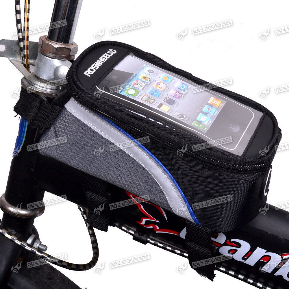BICYCLE-MOBILE-PHONE-HOLDER-CYCLE-BIKE-IPHONE-FRAME-POUCH-BAG-CASE