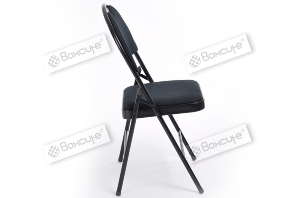 2pcs xl size commercial quality black metal folding chair furniture