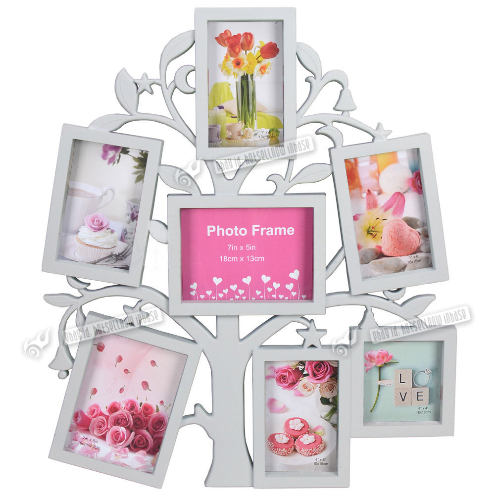multi collage photo picture frame 6x4 7x5 aperture wall. Black Bedroom Furniture Sets. Home Design Ideas