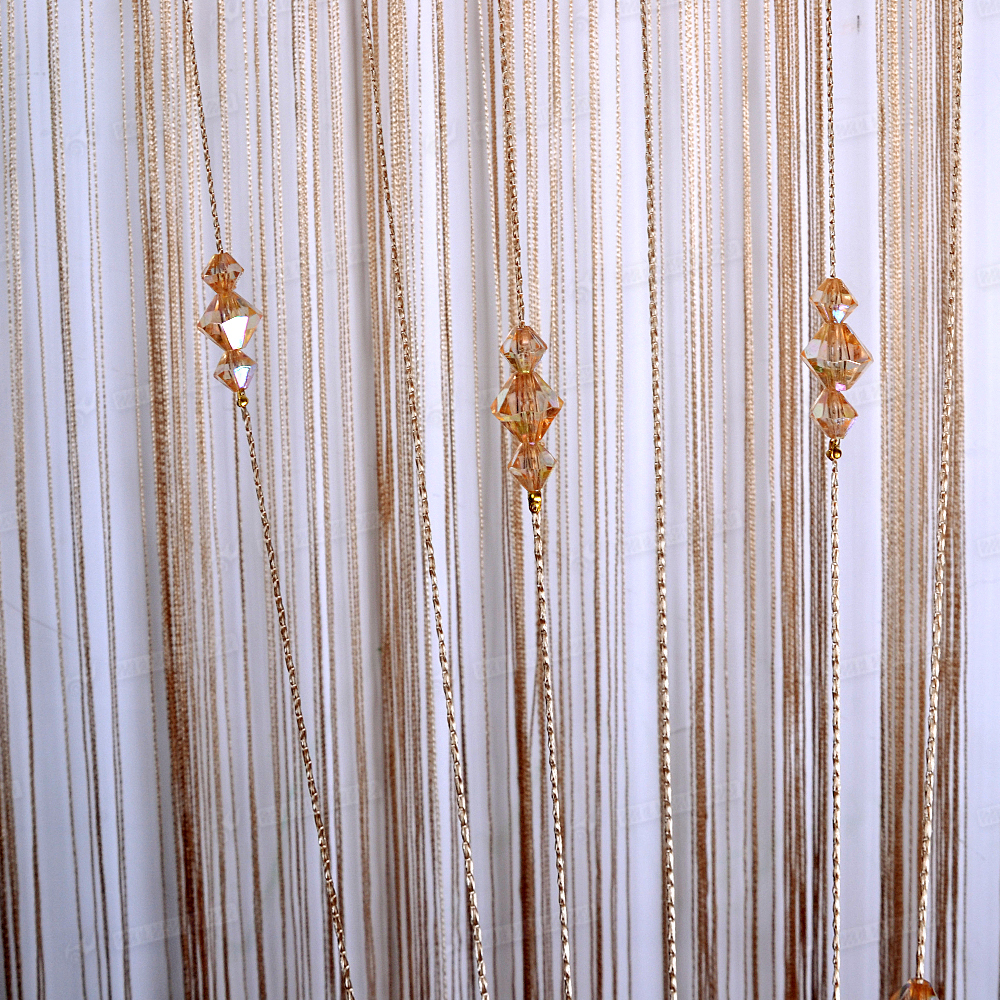Top Quality String Quot Sparkle Quot Beaded Door Curtain 100x200cm
