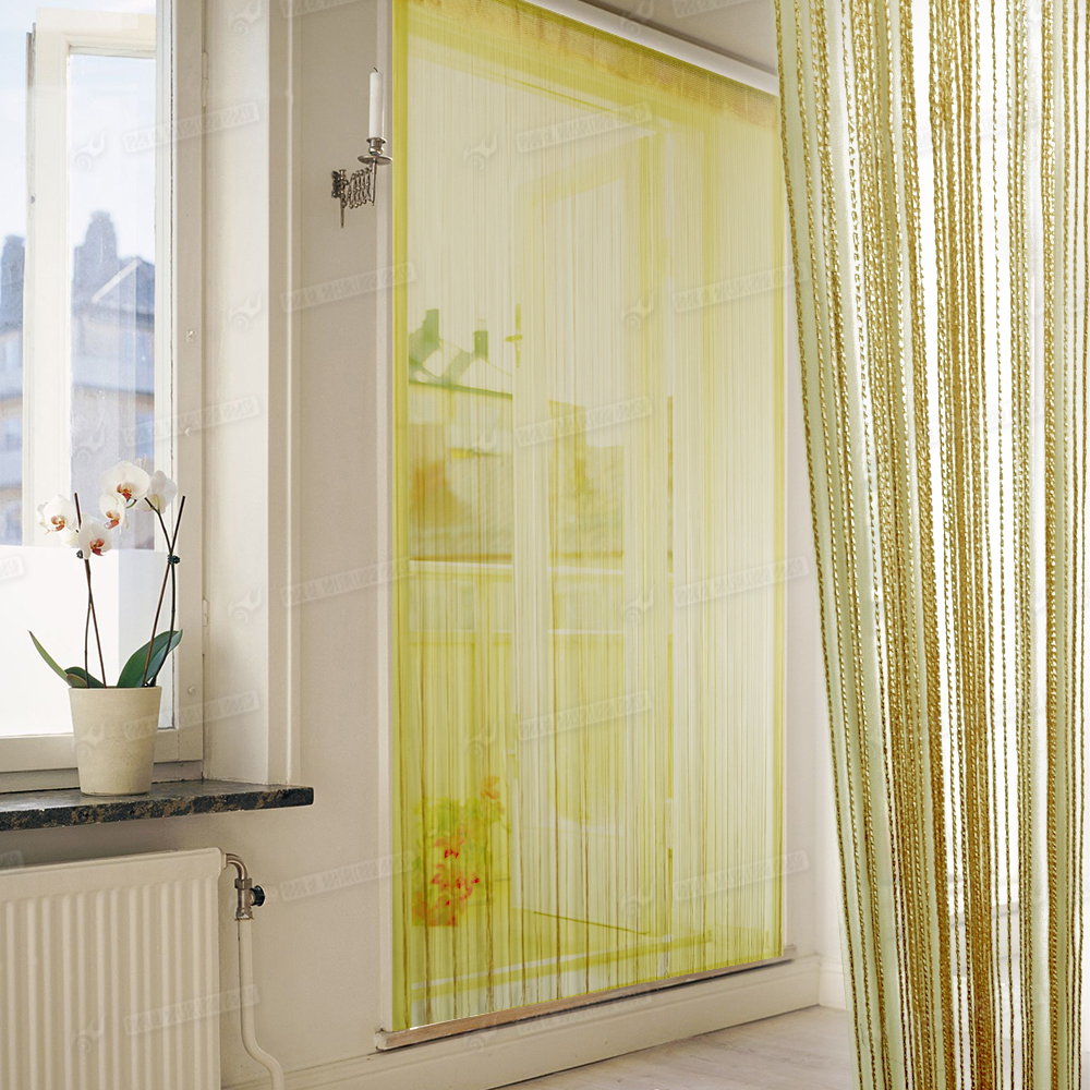 Curtains for door 2