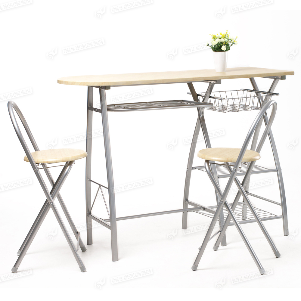 Breakfast Kitchen Bar Table and 2 Stools Chairs Seat  : g2 from www.ebay.co.uk size 1000 x 1000 jpeg 387kB