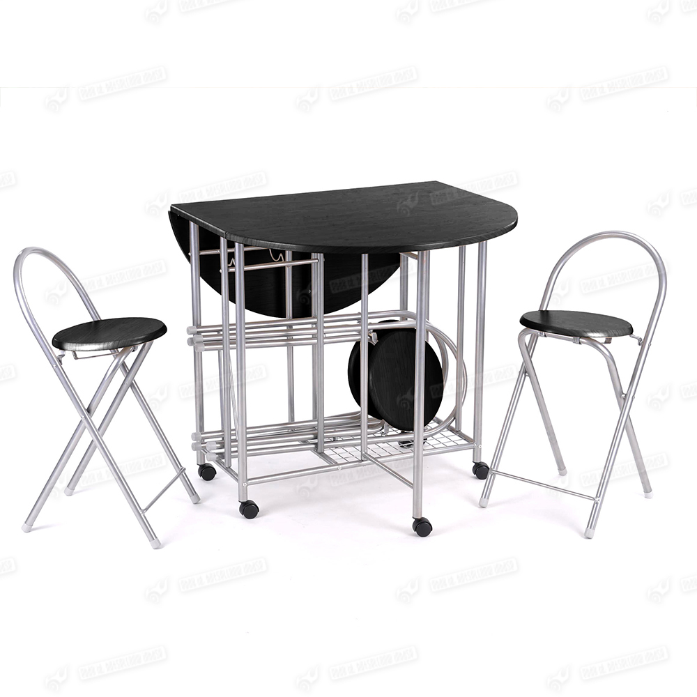 5pc Steel Tube Butterfly Folding Dining Table and 4 Chairs  : 4 from www.ebay.com.au size 1000 x 1000 jpeg 302kB