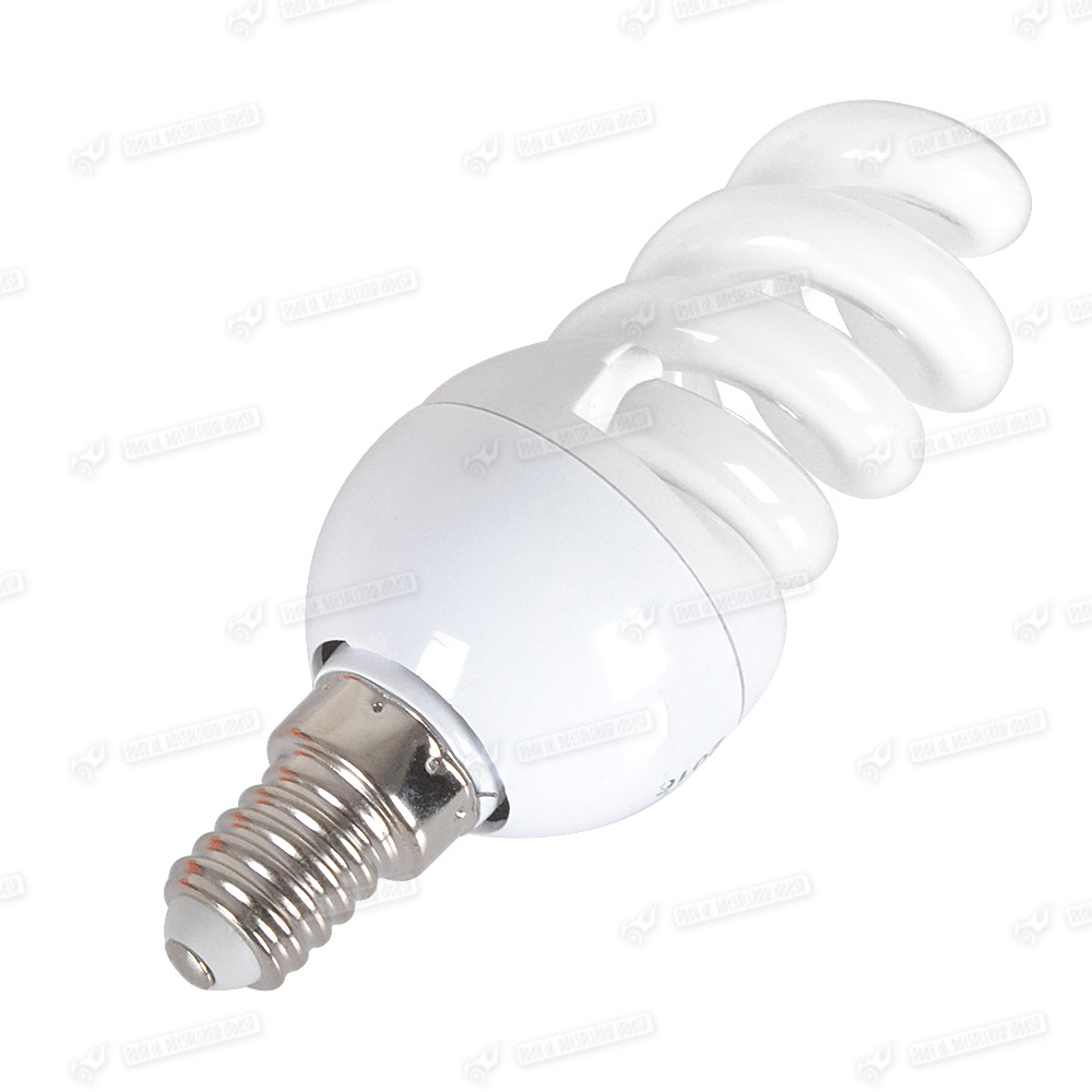 5x Low Energy Saving Cfl Mini Spiral Lamp Light Bulbs E14 E27 B22 11w 55w Bright