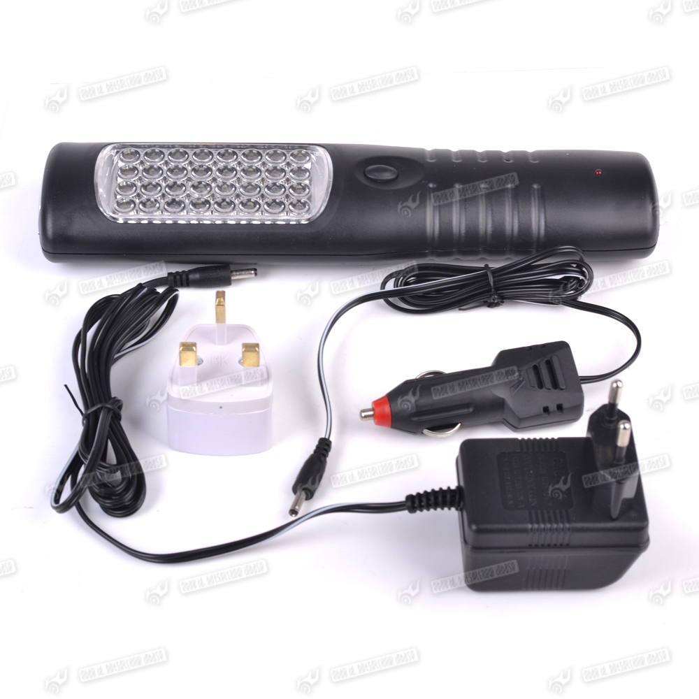100 Led Rechargeable Cordless Work Light Garage Inspection: 35 LED Hand Torch Work Light Lamp Rechargeable Car
