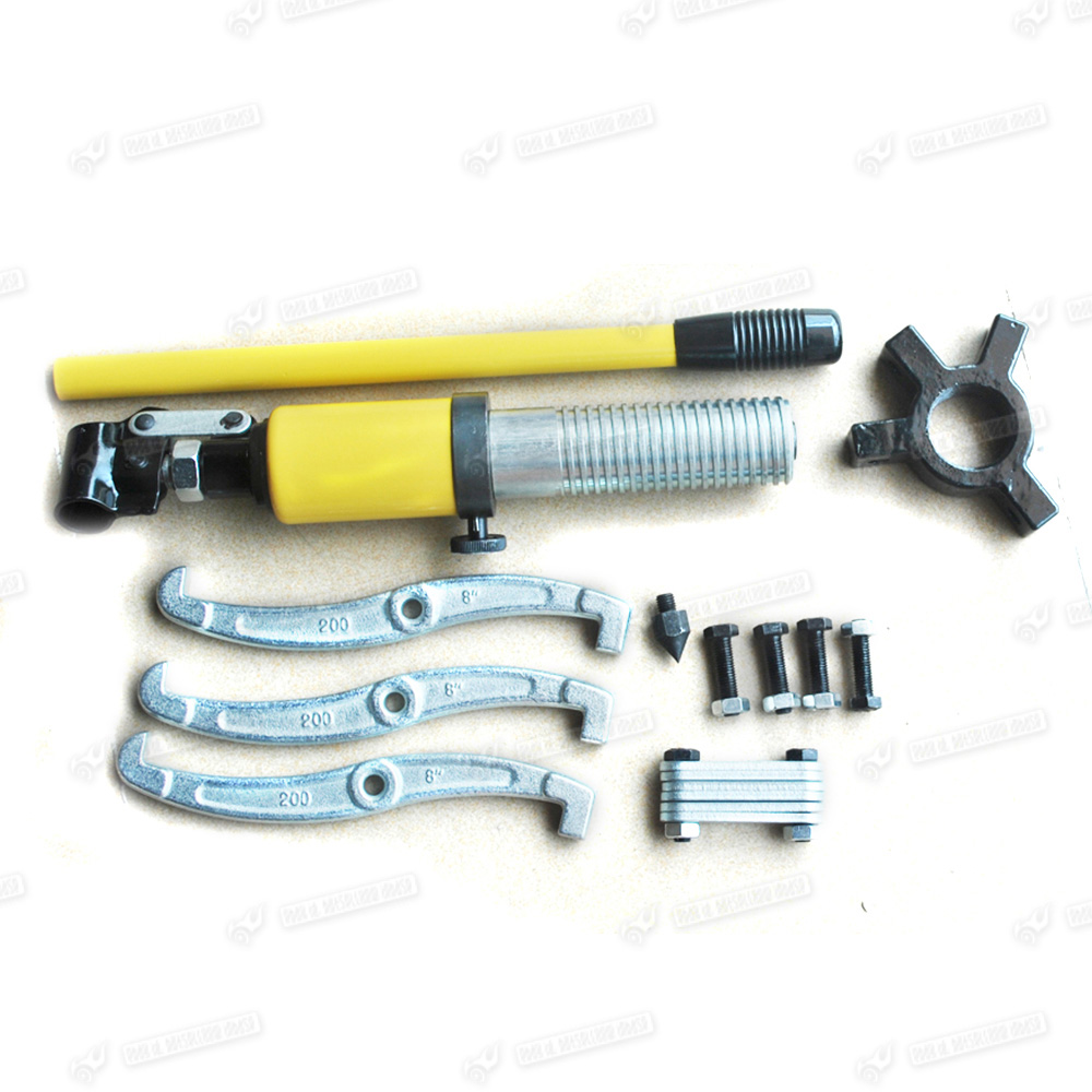 Heavy Duty Hydraulic Bearing Puller : Heavy duty t hydraulic bearing gear puller sets separator