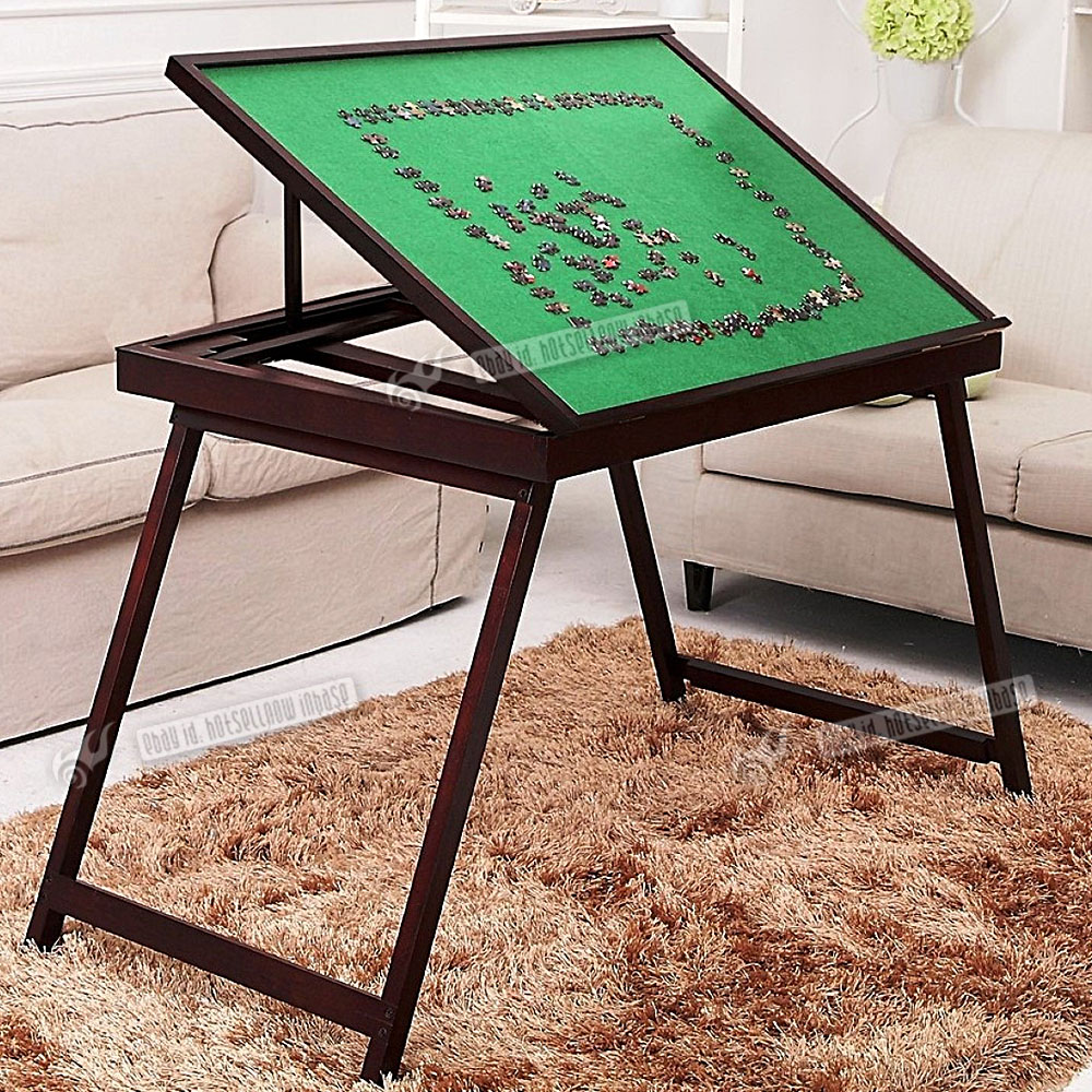 jigsaw puzzle table storage folding tilting table 1500 pcs