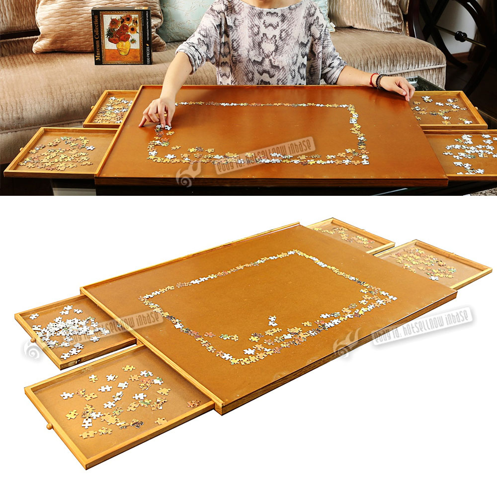 Jigsaw Puzzle Table Storage Organize Board1000 Pcs Mat