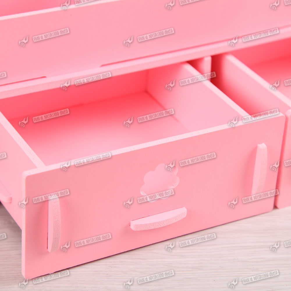 Desk tidy office organiser drawer cosmetic storage makeup stationery ebay - Desk stationery organiser ...