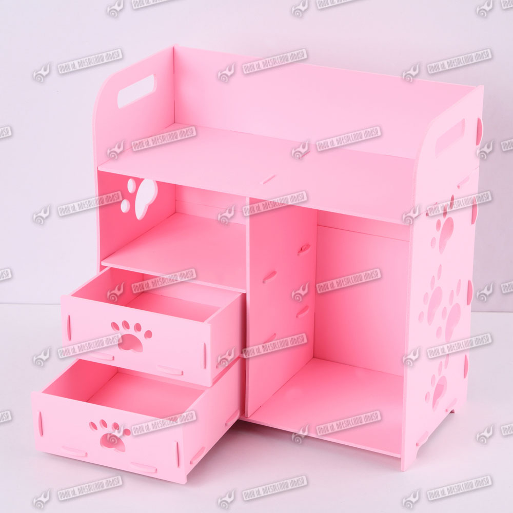 Woman Cosmetic Tidy Drawers Desk Organiser Storage Box Stationery Holder Ebay