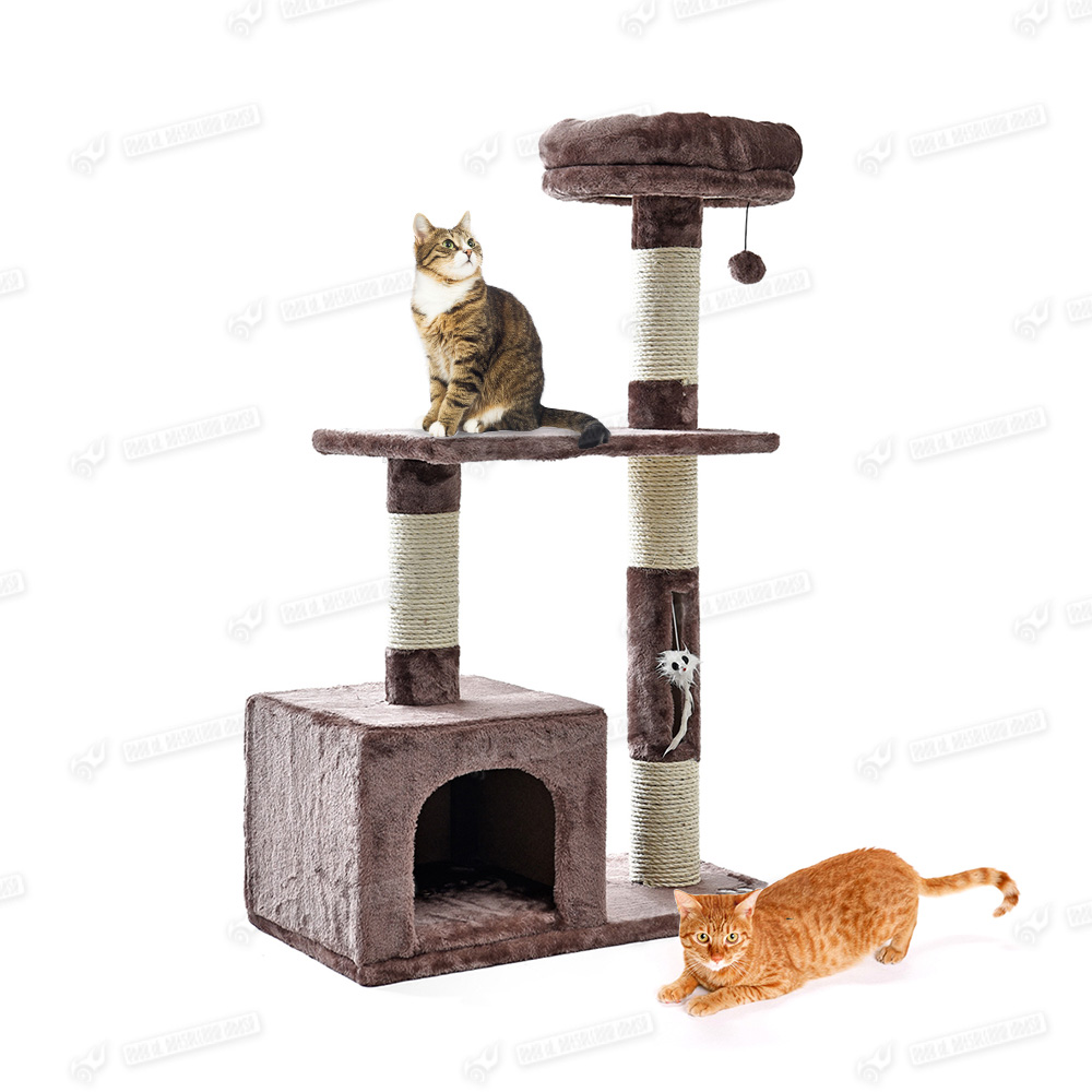 Cat Tree Activity Centre Scratcher Scratching Post