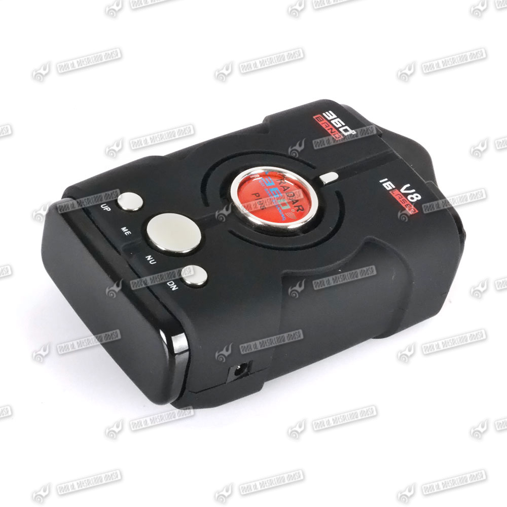 Anti Police Car Radar Gun Speed Detector 16 Band X K NK Ku Ka Laser VG ...