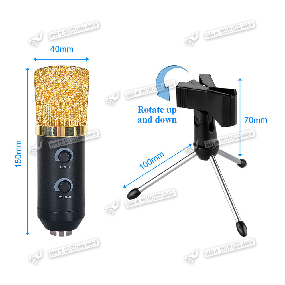 New USB Condenser Microphone For PC Laptop Mac Macbook ...