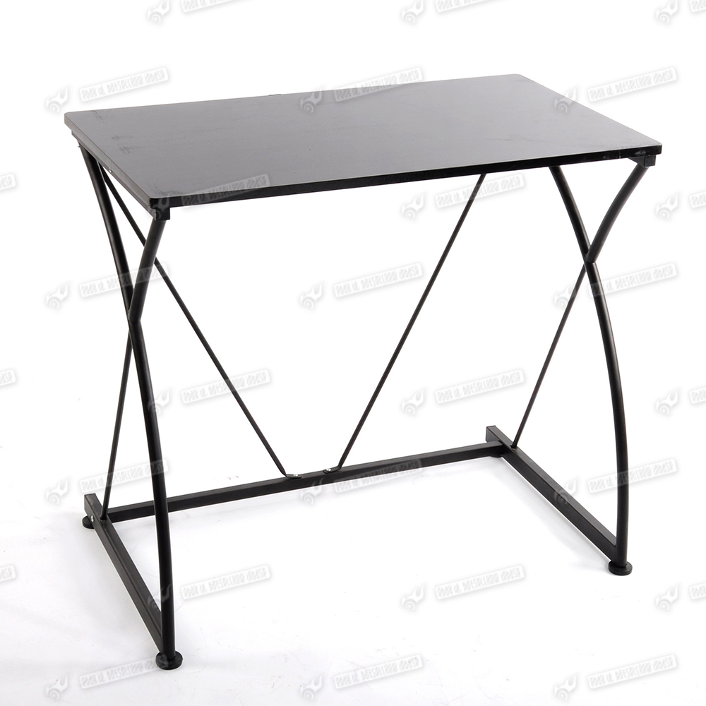 Metal Simple Shaped Home Office Study Computer Desk Dorm Furniture