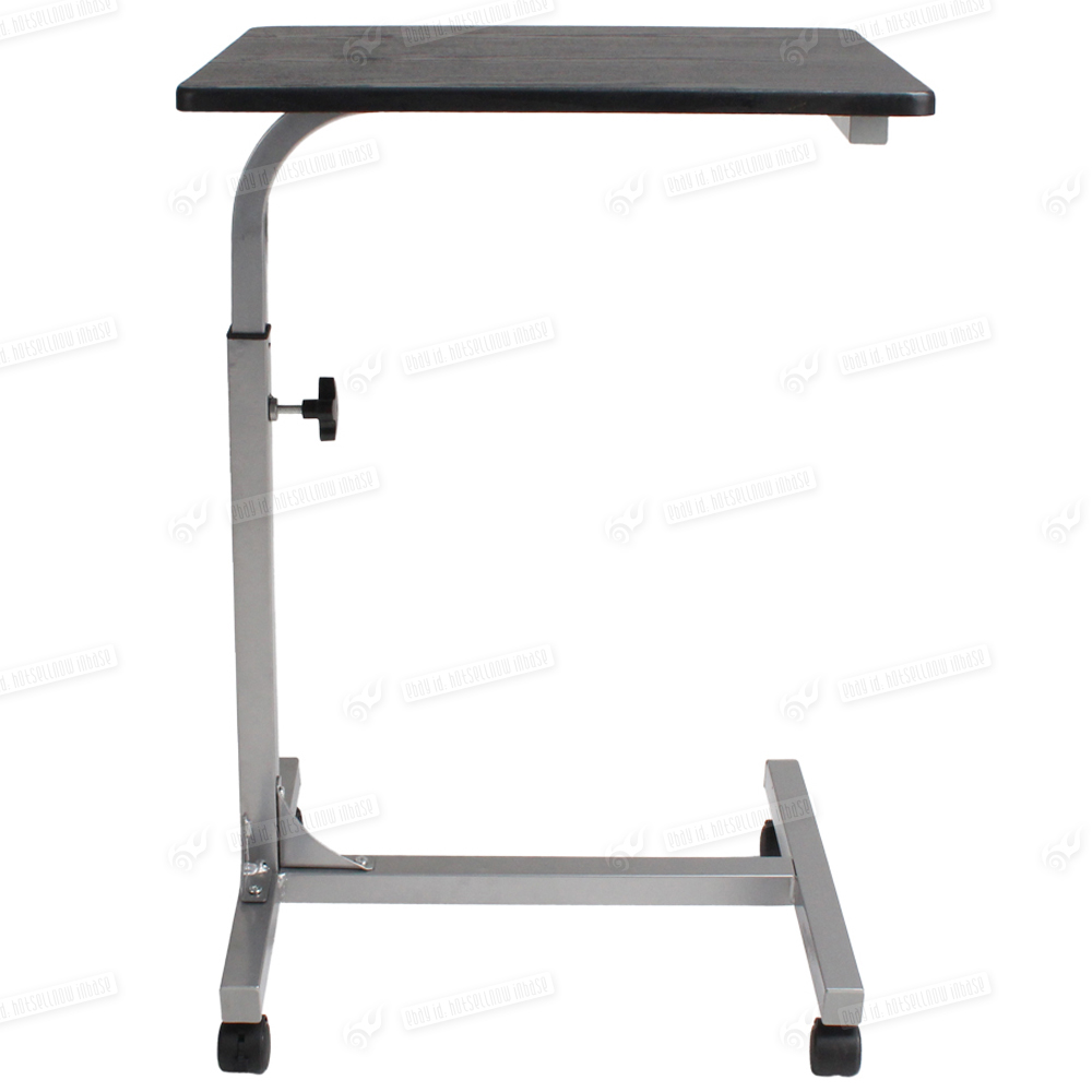 laptop computer steel tube table desk stand bed study adjustable