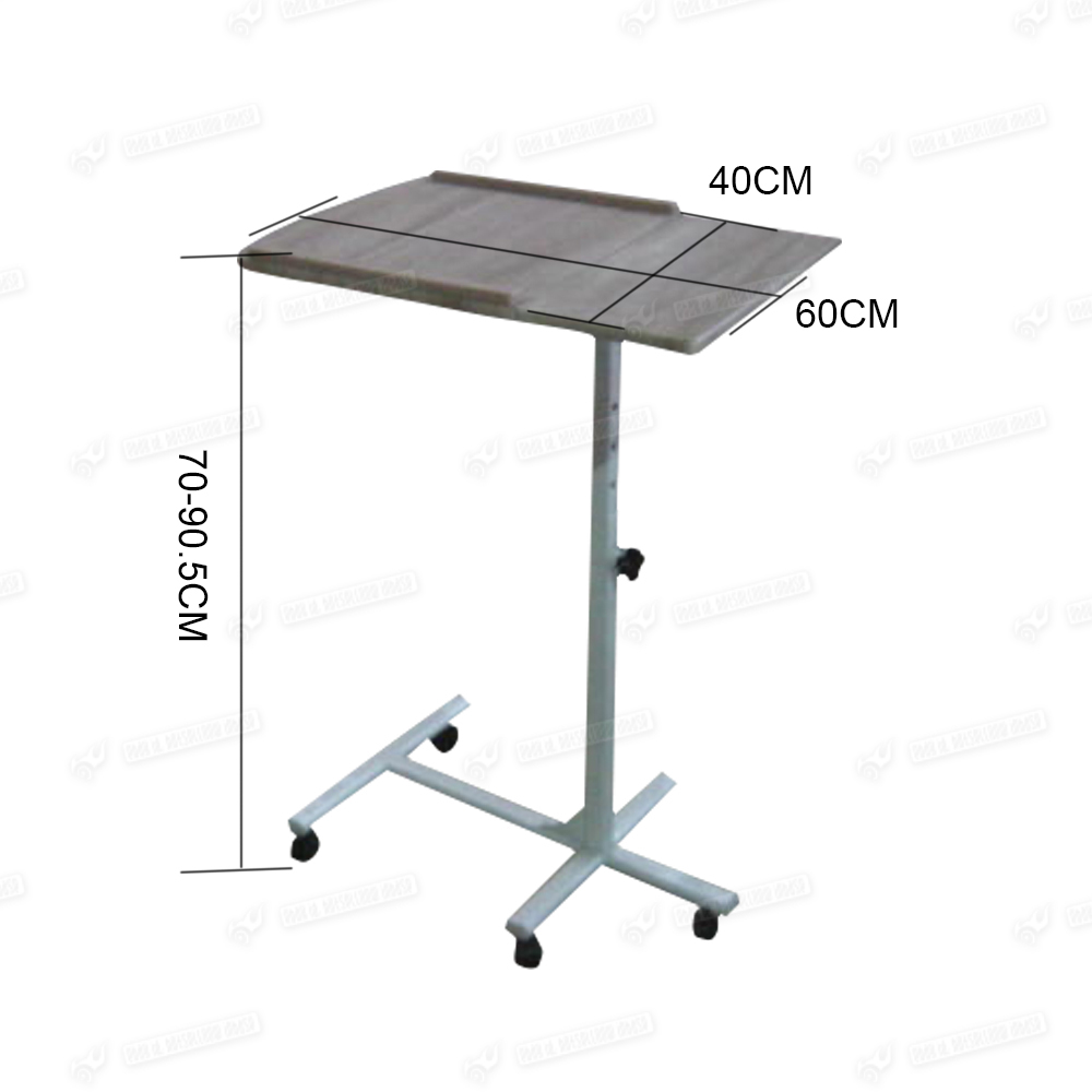portable height adjustable computer laptop desk pc corner table on