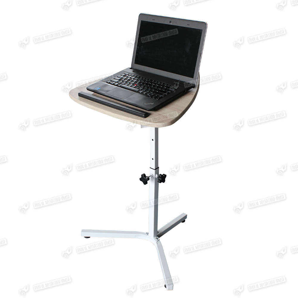 Height Adjustable Laptop Desk Folding Over Bed Sofa Tv Tray Notebook Stand Table Ebay