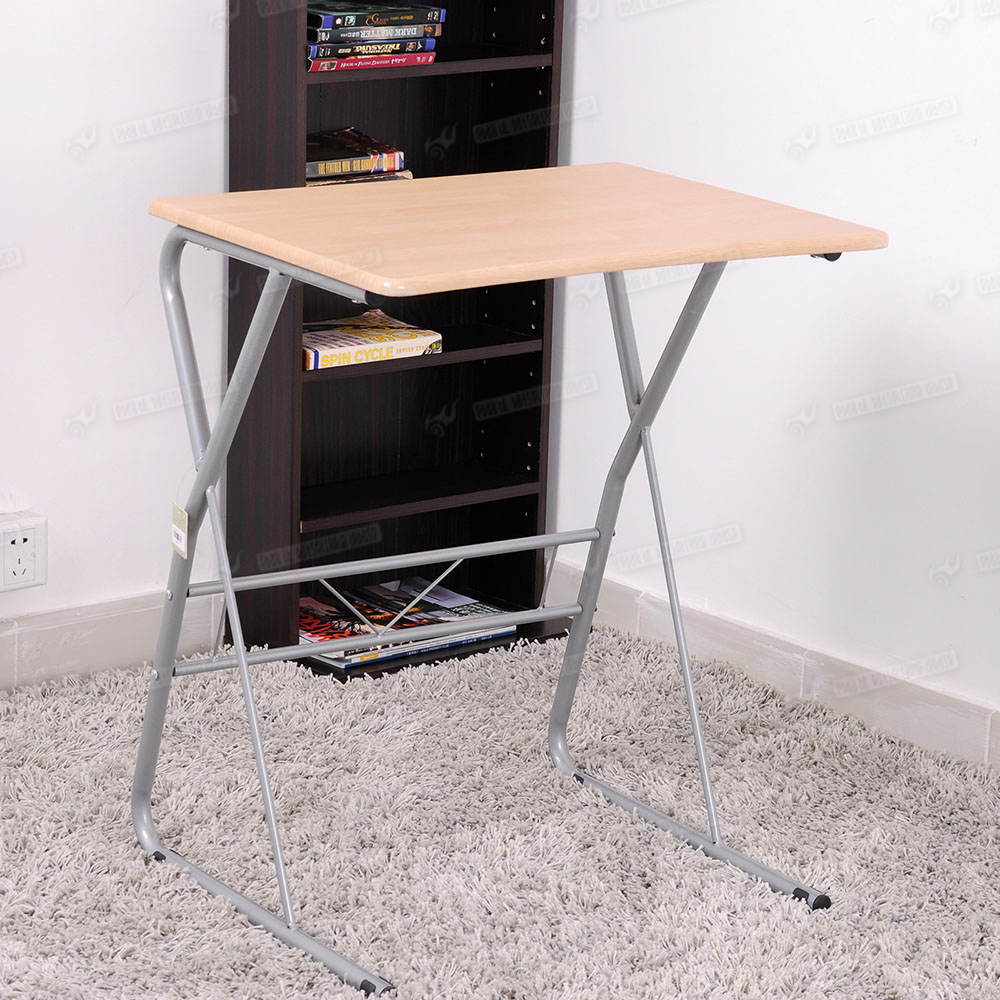 Office Portable Folding Adjustable Height Laptop Table