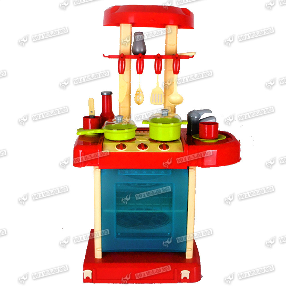 Electronic Kitchen Set: HOT SALE ELECTRONIC CHILDRENS/KIDS KITCHEN COOKING ROLE