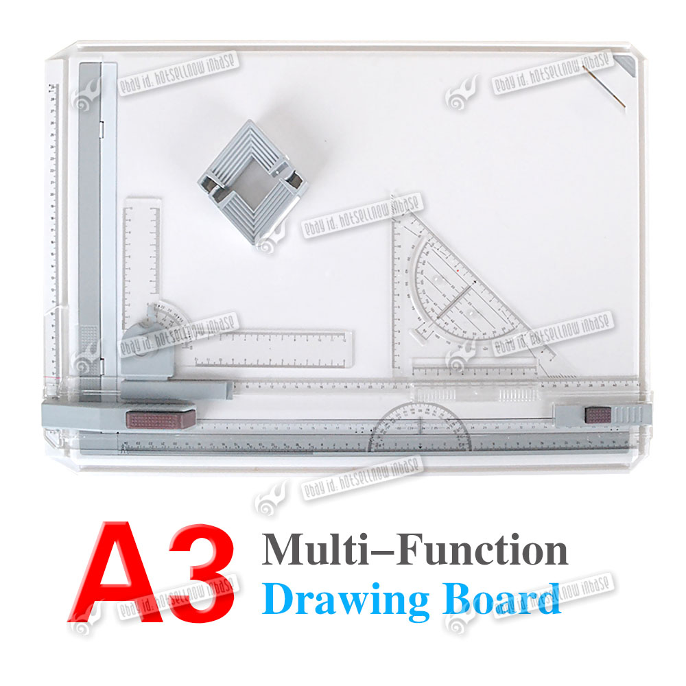 A3 Drawing Board Table With Parallel Motion And Adjustable