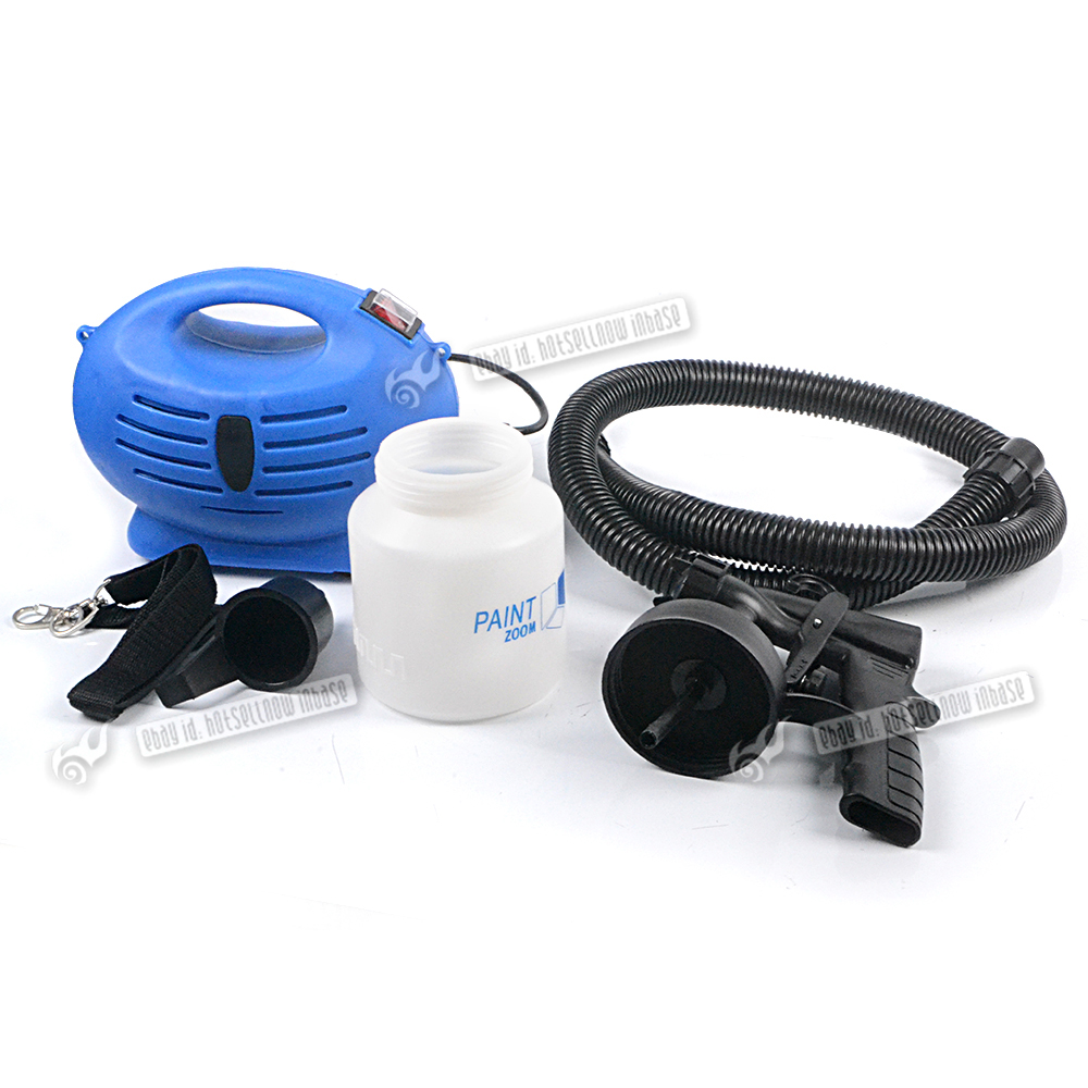 Electric Paint Sprayer Fence Wood Wall Spray Zoom Gun Painting Indoor Outdoor Ebay