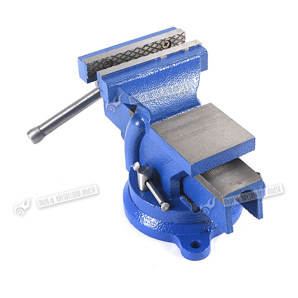 6 150mm Heavy Duty Work Bench Vice Vise Workshop Clamp Engineer Jaw Swivel Base Ebay