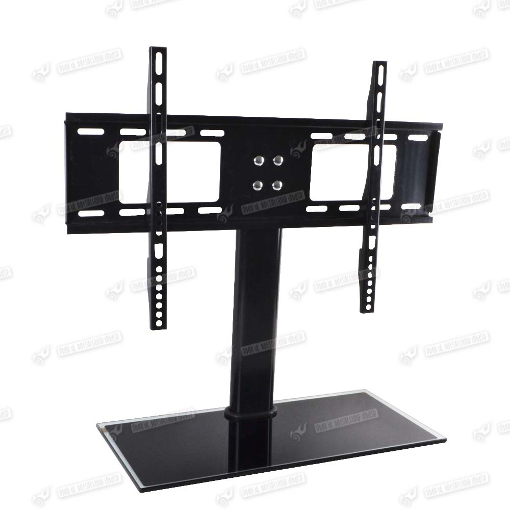 table top tv stand universal replacement tabletop tv base stand mount for 37 55 ebay. Black Bedroom Furniture Sets. Home Design Ideas