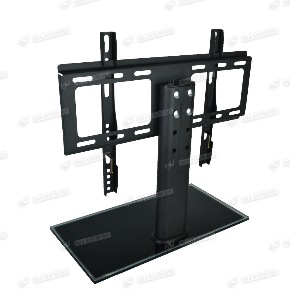 bracket tv stand universal replacement tabletop tv base stand mount f 26 32 tvs ebay. Black Bedroom Furniture Sets. Home Design Ideas