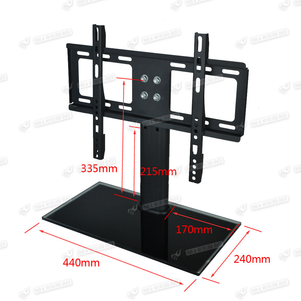 Bracket Tv Stand Universal Replacement Tabletop Tv Base