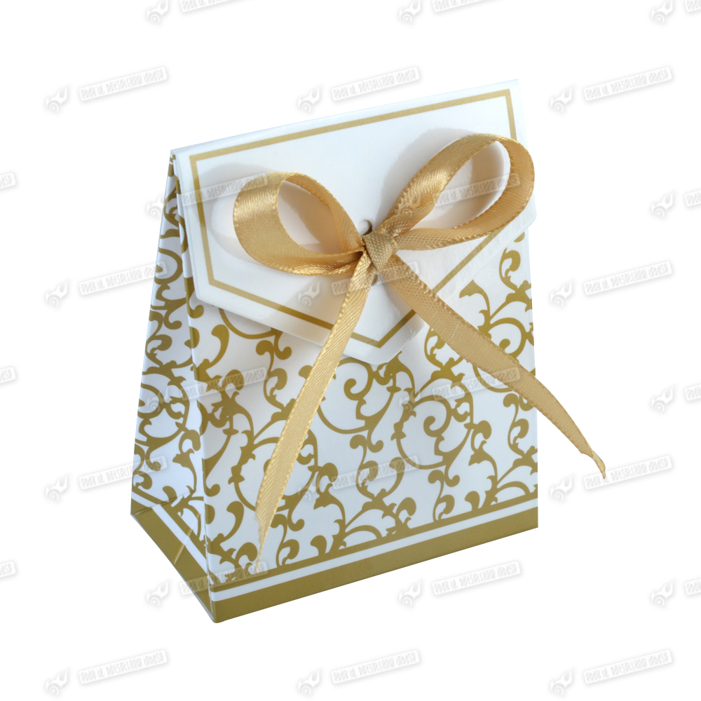 Gold Wedding Gift Box : ... Gold Wedding Favour Favor Sweet Cake Gift Candy Boxes Bags Party Box