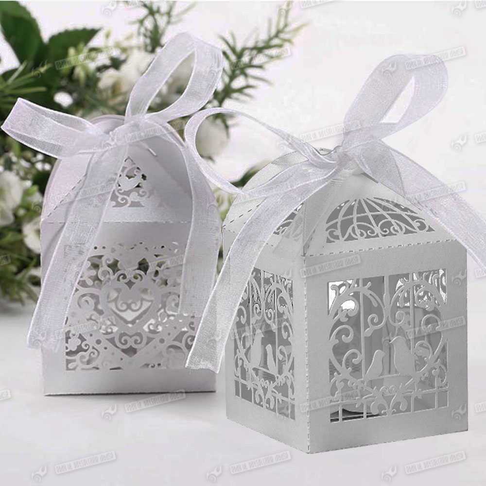 50x bonbon geschenkbox gastgeschenk kartonage schachtel schmetterling hochzeit ebay. Black Bedroom Furniture Sets. Home Design Ideas