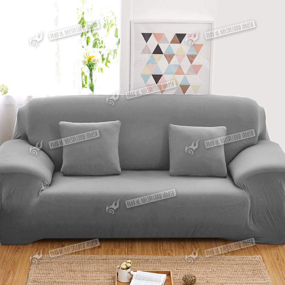 stretch couch sofa lounge covers recliner 1 2 3 4 seater couch covers ebay. Black Bedroom Furniture Sets. Home Design Ideas