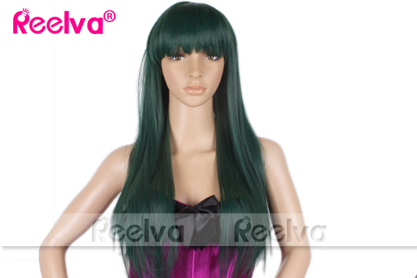 Womens-Sexy-Long-Curly-Straight-Wigs-Fancy-Dress-Cosplay-Costume-Full-Wig-Party
