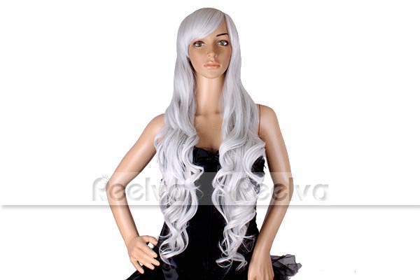 32-80CM-Long-Wavy-Ladies-Fancy-Dress-Cosplay-Costume-Party-Make-Up-Full-Wigs