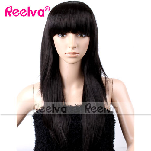 Womens-Wavy-Curly-Straight-Cosplay-Party-Wigs-Fancy-Dress-Make-Up-Full-Wig