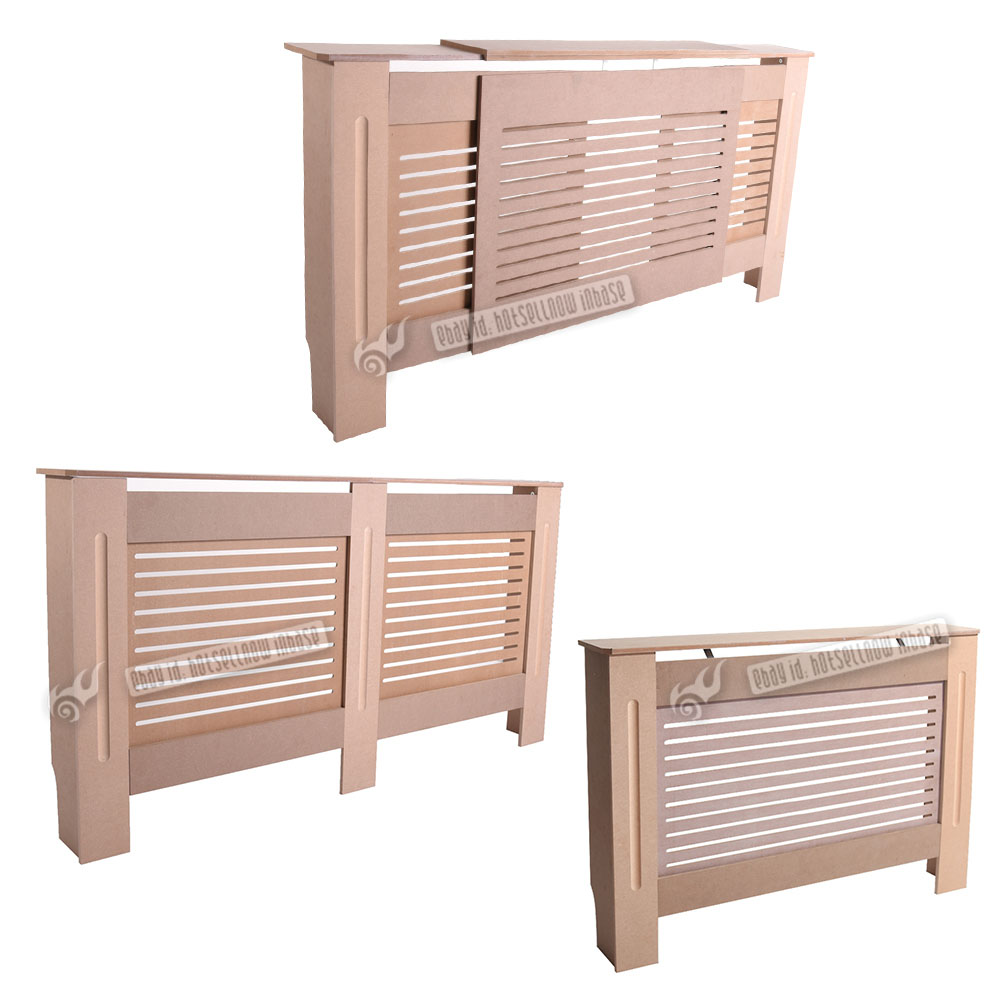 Mdf Wood Kitchen Cabinets: Radiator Cover Cabinet MDF Wood Unfinished In Medium