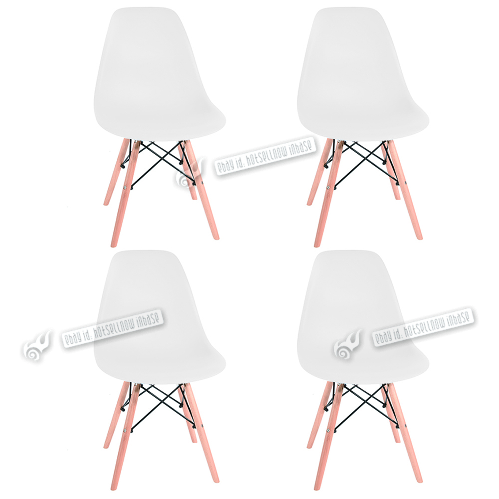 wooden chair eiffel retro lounge dining room set table