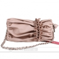 Womens Pink Shoulder Bag Party Ladies Handbag
