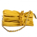 New Womens Yellow Shoulder Bag Party Ladies Handbag