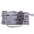 Ladies Light Purple Shoulder Bag Party Fashion Handbag