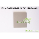 New Battery for Canon NB-4L IXUS Wireless SD40 SD30