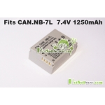 New Battery for Canon NB-7L NB-7LH Powershot G11 G10