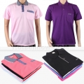 Mens Polo T-Shirt Blank Plain Fabric & Cotton Clothing