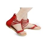 Ladies Flat Toes Sandals Casual Shoes New 5 Color