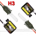 HID XENON CONVERSION KIT H3 6000K 2 BULBS + 2 BALLASTS