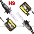 HID XENON CONVERSION KIT H9 6000K 2 BULBS + 2 BALLASTS