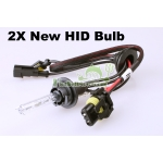 2× 35W 12V H9 8000K HID Xenon Car Headlight Lamp Bulb