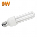LOW ENERGY SAVING TUBE LIGHT BULB 9W CFL E27 6400K