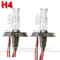 35W HID XENON BALLAST KIT H4 Single beam 4300K 2 Bulbs